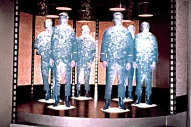 """Teleportacja często pojawiała się w serii """"Star Trek"""" /materiały prasowe"""