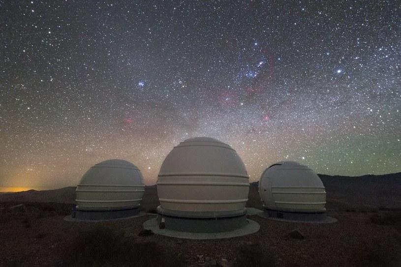 Teleskopy ExTrA już dokonują obserwacji /materiały prasowe