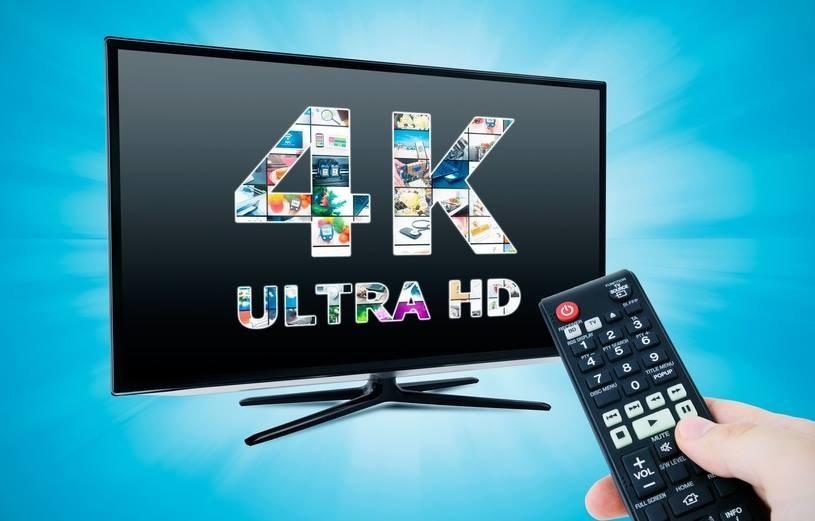 Telewizor 4K nie wystarczy - co można na nim obejrzeć? /123RF/PICSEL