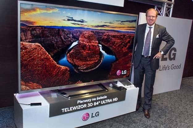 Telewizor LG UD 3D /materiały prasowe