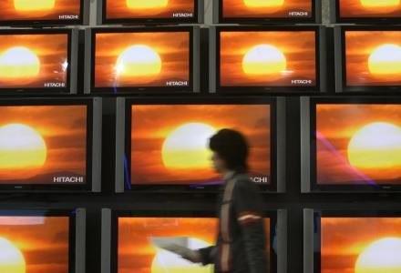 Telewizory Hitachi na targach IFA /AFP