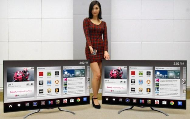 Telewizory LG na 2013 rok - zapowiadają się na godnych graczy w segmencie Smart TV /materiały prasowe