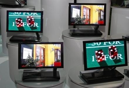 Telewizory OLED, pierwsze komercyjne odbiorniki tego typu zaprezentowało Sony /AFP