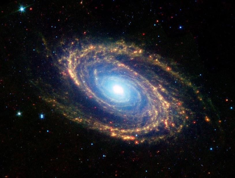 Tempo rozszerzania wszechświata sprzyja powstawaniu inteligentnego życia /NASA