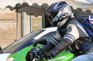"""Temu motocykliście """"odbiło"""""""