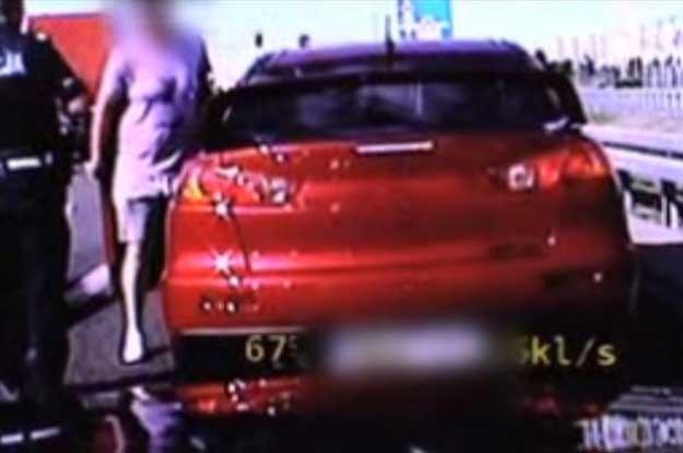 Ten 24-letni osobnik  nie miał ani prawa jazdy, ani ubezpieczenia ani dowodu rejestracyjnego pojazdu /