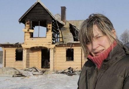 Ten dom był naszym marzeniem. Dziś nie mamy nic - mówi Magda Molenda /Tygodnik Siedlecki