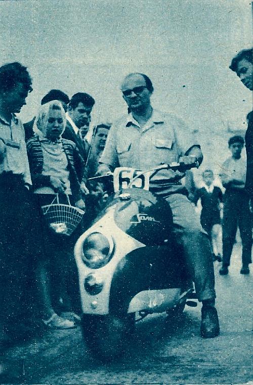 Ten ładny skuter zwyciężył w grupie pojazdów jednośladowych. /Motor