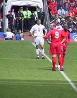 Ten mecz w Cardiff Polacy wygrali 2:1 /INTERIA.PL