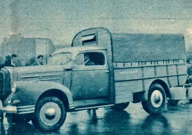 Ten samochód ciężarowy to też SAM — otrzymał on wysoką punktację. /Motor