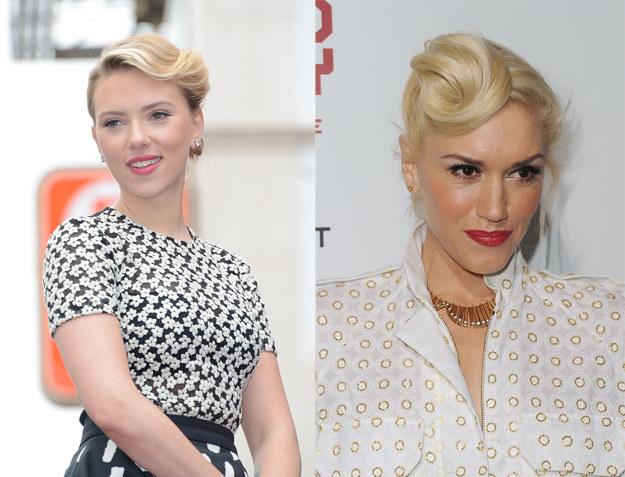 Ten trend spodobał się również Scarlett Johansson i Gwen Stefani /Getty Images