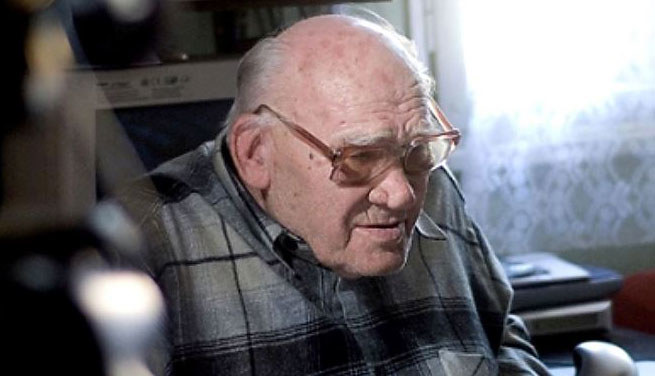 Teofil Ryszard Rubasiński (1922-2013)/zdjęcia z archiwum Autora. /Odkrywca