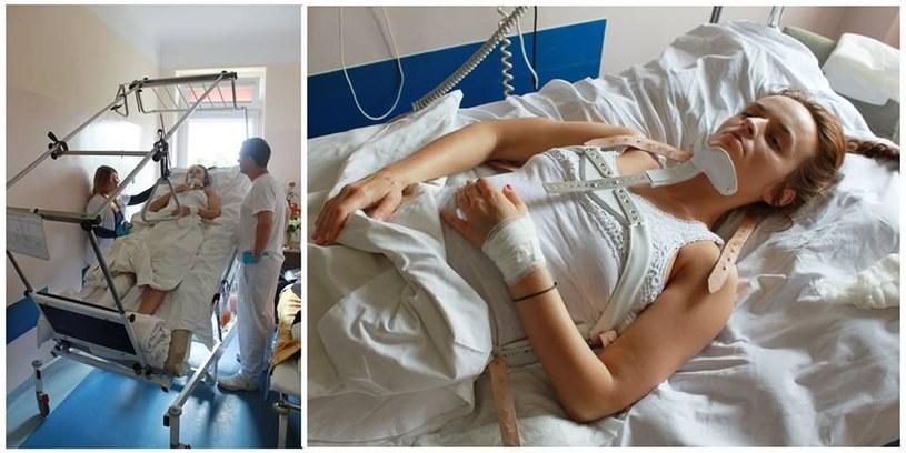 Teraz Beata przechodzi rehabilitację /INTERIA.PL