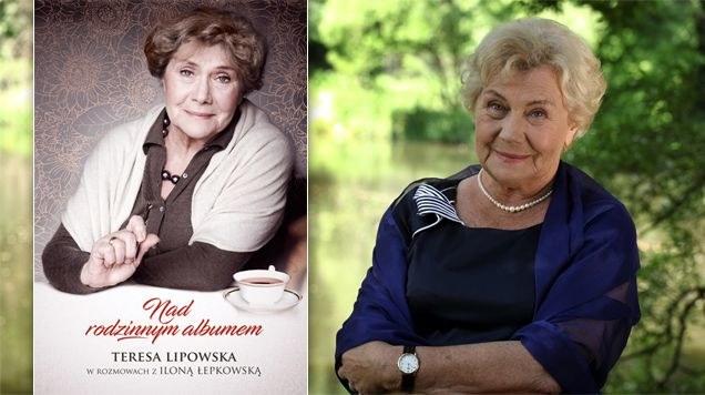 Teresa Lipowska i jej książka, fot. ze strony www.mjakmilosc.tvp.pl /materiały prasowe