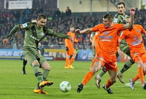 Termalica Bruk-Bet Nieciecza - Legia Warszawa 3-0 w 25. kolejce Ekstraklasy