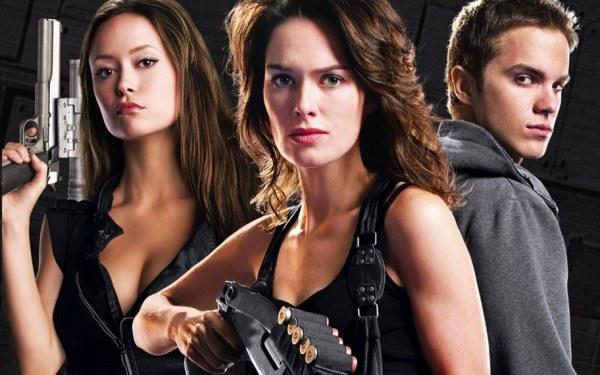 Terminator: Kroniki Sary Connor - fragment okładki z filmu /Informacja prasowa