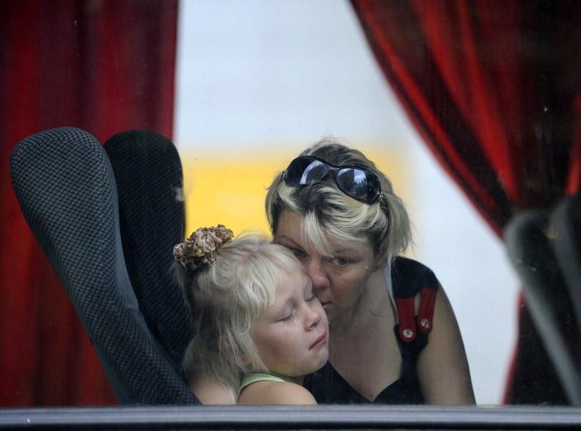 Terroryści chcą wywieźć dzieci do Rosji /AFP