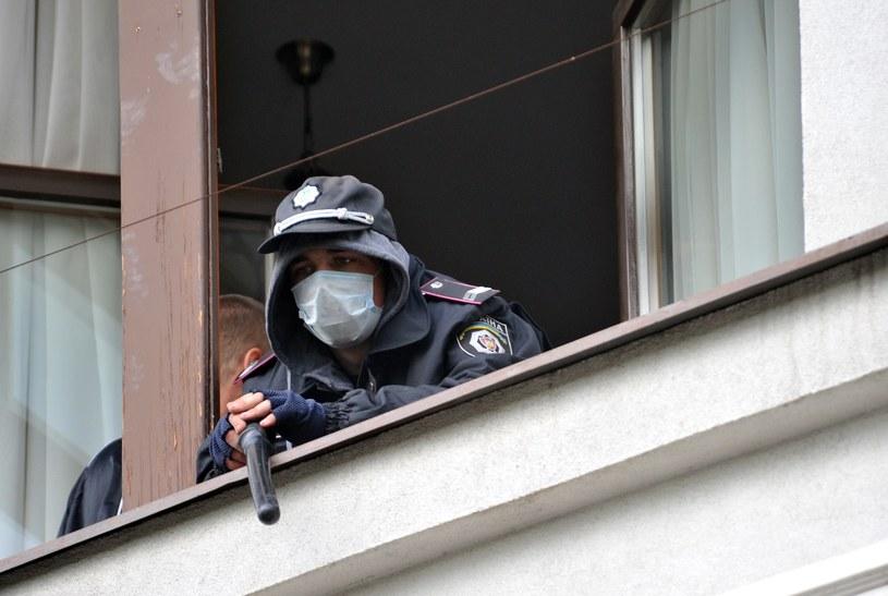 Terroryści zajęli prokuraturę w Ługańsku. /PAP