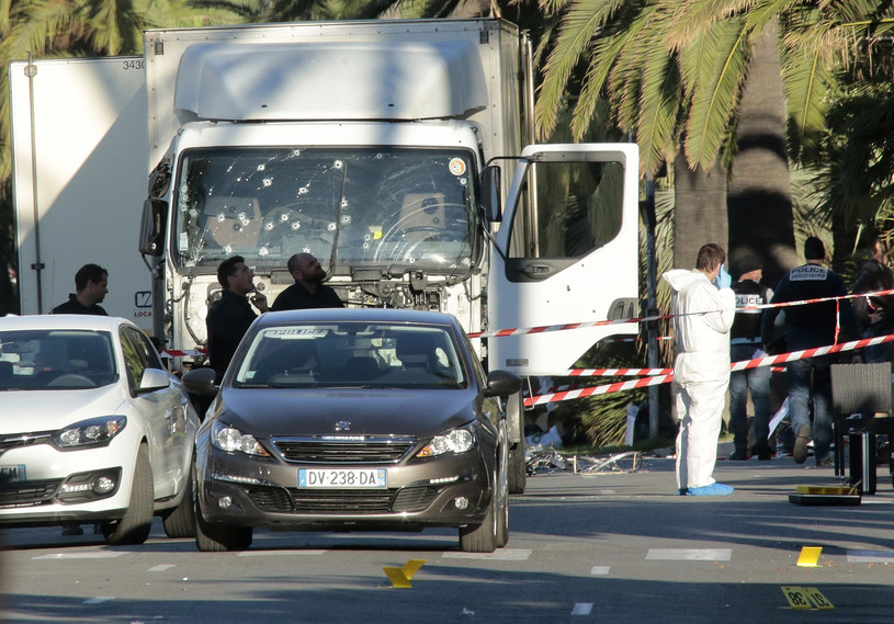 Terrorysta z Nicei zamordował 84 osoby /Getty Images