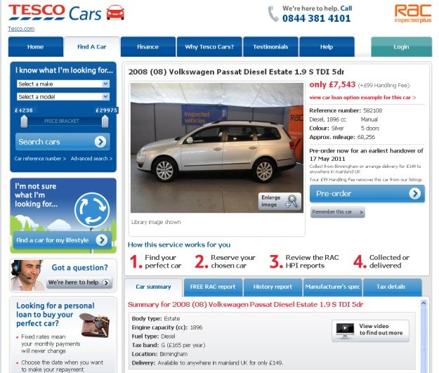 Tesco Cars... /