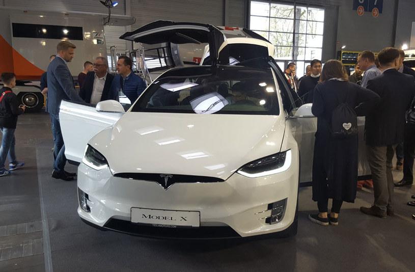 Tesla na Moto Show w Poznaniu /INTERIA.PL