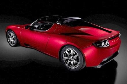 Tesla roadster / Kliknij /INTERIA.PL