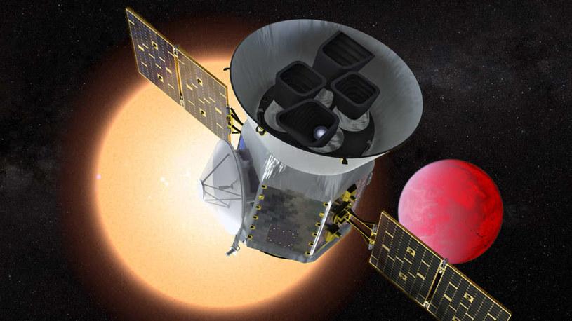 TESS będzie poszukiwał egzoplanet podobnych do Ziemi /NASA