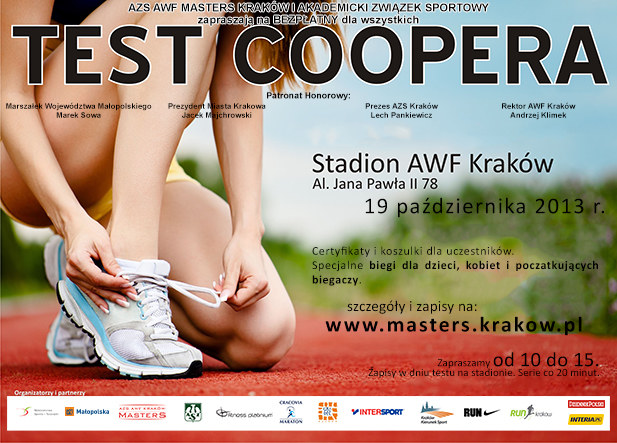 Test Coopera to sprawdzian dobry dla każdego. Nie masz siły, by biec, to możesz maszerować! /INTERIA.PL