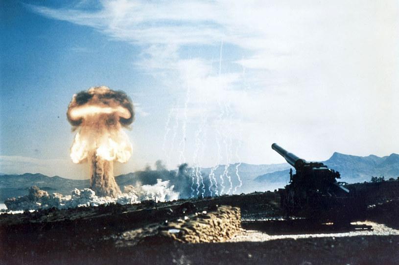 Test działa M65 Atomic Annie na poligonie w Nevadzie /materiały prasowe