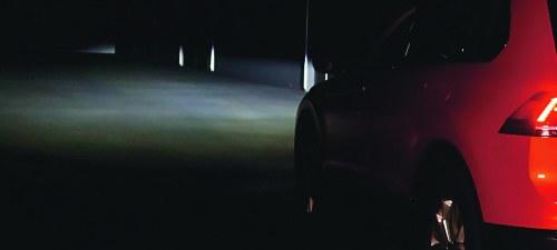 Test reflektorów diodowych /Motor