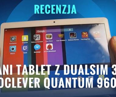 Test tani tablet z DualSIM 3G GoClever Quantum 960m