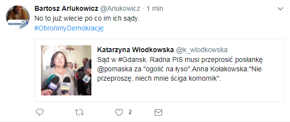 Teza Bartosza Arłukowicza /Twitter