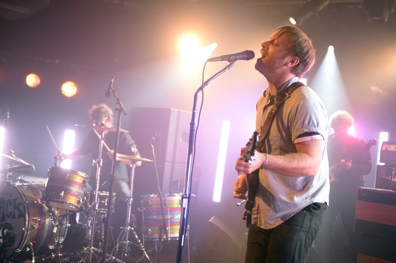 The Black Keys w akcji (z lewej perkusista Patrick Carney) /fot. Stephen Lovekin /Getty Images