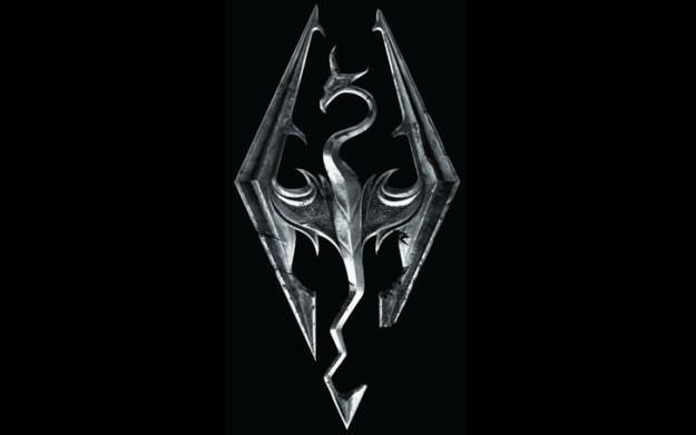 The Elder Scrolls V: Skyrim - logo /Informacja prasowa