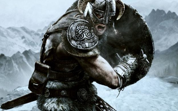 The Elder Scrolls V: Skyrim - motyw graficzny /Informacja prasowa