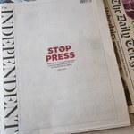 """""""The Independent"""" znika z kiosków. Będzie dostępny tylko w sieci"""