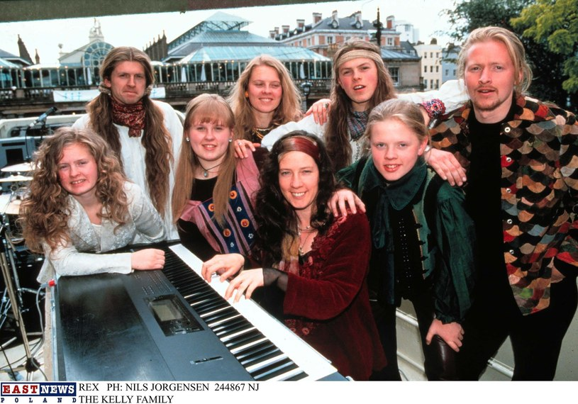 The Kelly Family w latach 90. /NILS JORGENSEN / Rex Features /East News