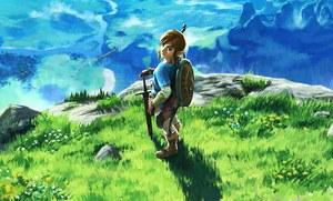 The Legend of Zelda: Breath of the Wild tytułem startowym Switch