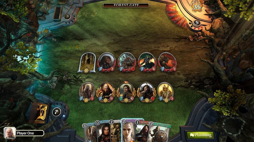 The Lord of the Rings Living Card Game /materiały prasowe