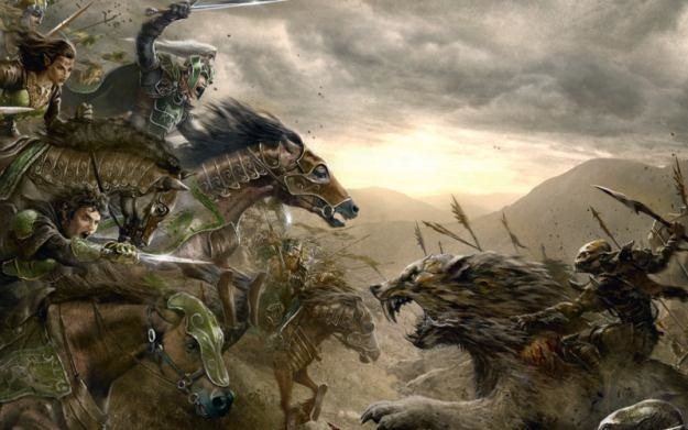 The Lord of the Rings Online: Riders of Rohan - motyw graficzny /Informacja prasowa