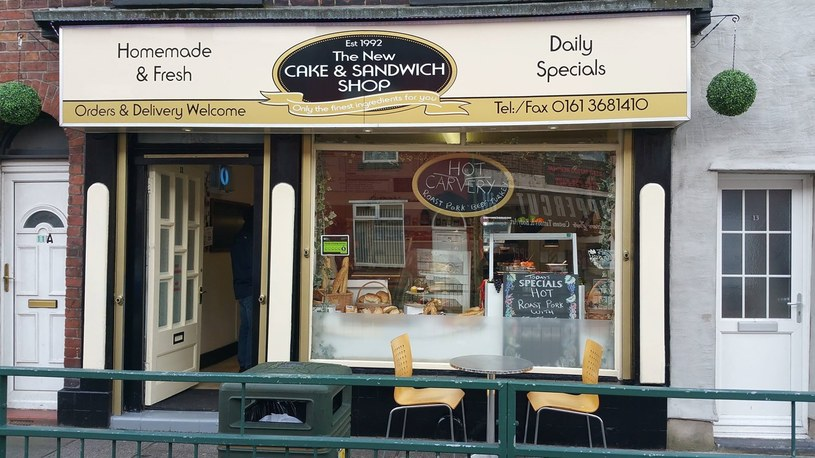 The New Cake and Sandwich Shop /East News
