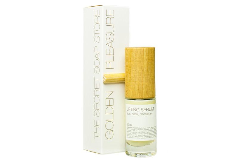 The Secret Soap Store: Golden Pleasure Liftingujące serum do twarzy, dekoltu i szyi /materiały prasowe