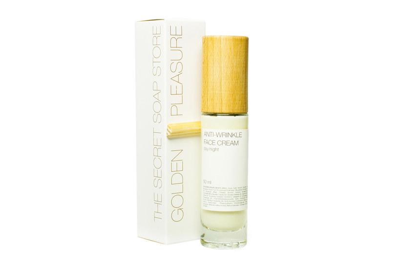 The Secret Soap Store: Golden Pleasure Przeciwzmarszczkowy krem do twarzy /materiały prasowe