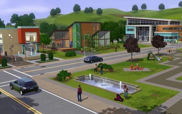 The Sims 3: Miejskie Życie - motyw graficzny /Informacja prasowa