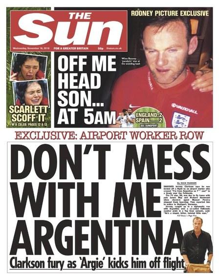 """""""The Sun"""": Wayne Rooney przesadził z alkoholem"""