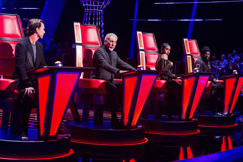 The Voice UK z szóstego sezonu /ITV/REX/Shutterstock /East News