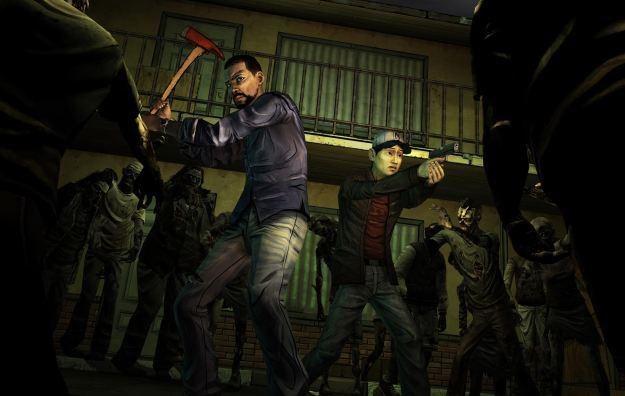 The Walking Dead - motyw graficzny /Informacja prasowa
