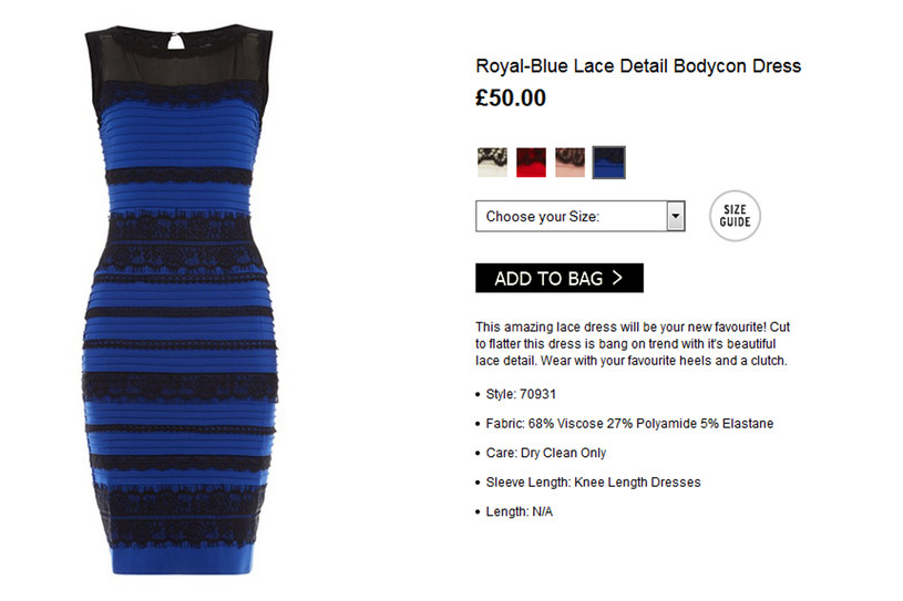 #TheDress /Styl.pl