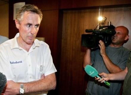 Theo de Rooy nie miał litości /AFP