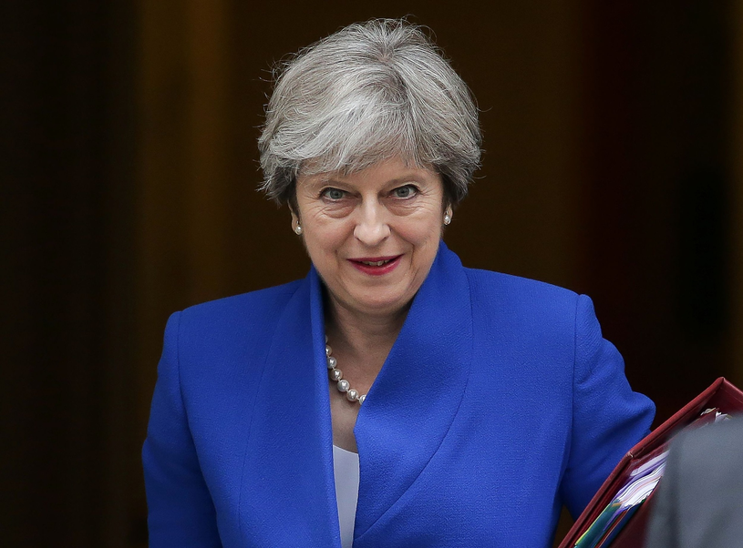 Theresa May /DANIEL LEAL-OLIVAS /East News